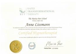 Zertifizierte Hypnose Therapeutin München