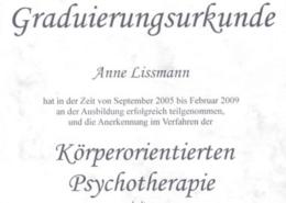 Körperorientierte Psychotherapie München